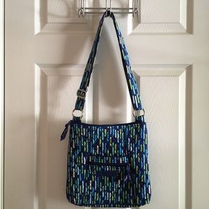 Vera Bradley • Katalina Showers Crossbody Bag